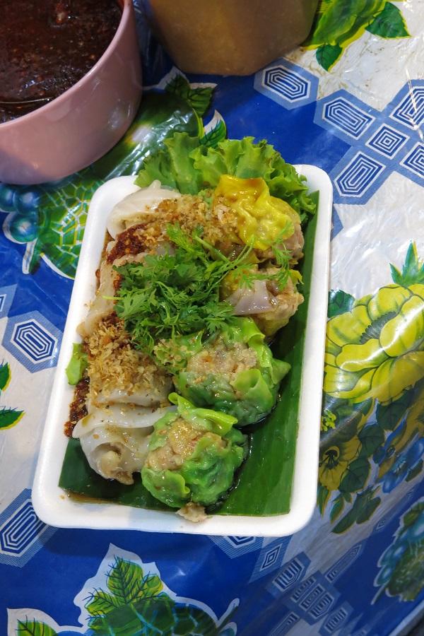Dumplings à Chiang Mai, Thailande