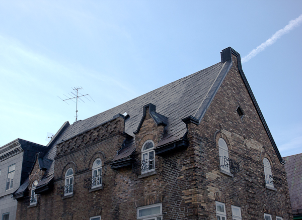Immeuble ancien - Québec, Canada