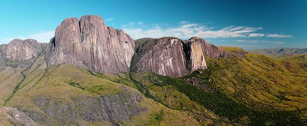 La vallée du Tsaranoro à Madagascar