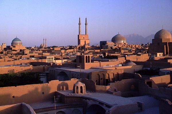 La vieille ville de Yazd en Iran