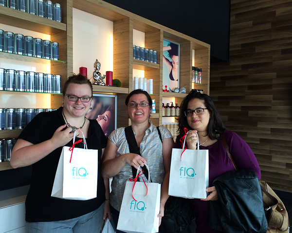 Le trio de blogueuses au FloSpa - Laval, Québec