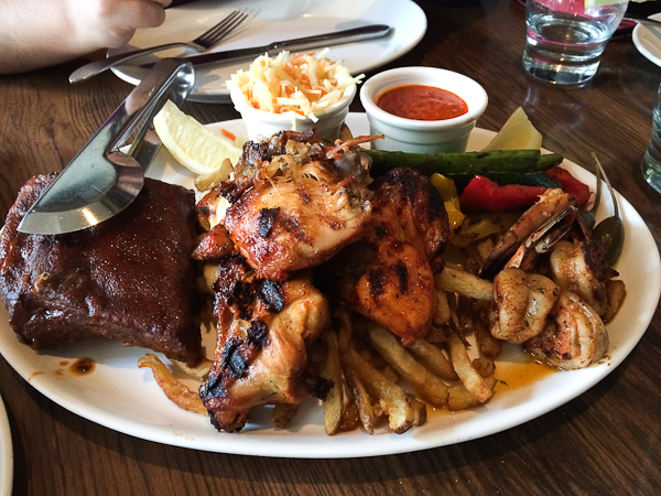 Viande sur le grill - Pollo Grill & Bar - Laval, QuébecViande sur le grill - Pollo Grill & Bar - Laval, Québec