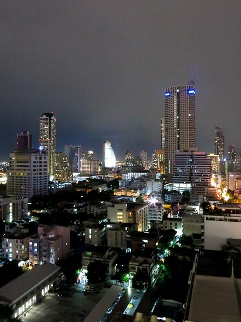 Vue du toit - Furama Silom - Bangkok, Thailande