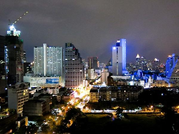 Vue sur la ville - Furama Silom - Bangkok, Thailande
