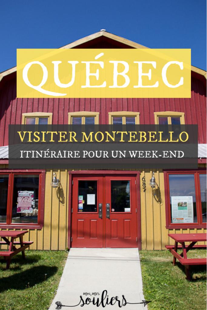 Petit guide de Montebello - fin de semaine ou week-end en Outaouais