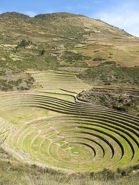Ancien centre de recherche agricole inca - Moray - Vallée sacrée des Incas, Pérou
