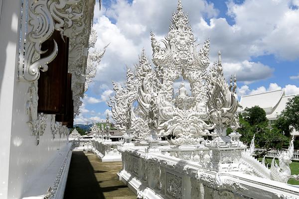 Autour du Temple Blanc (White Temple) - Chiang Rai, Thaïlande