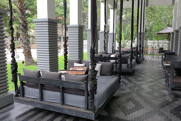 Balançoires-sofas - Shinta Mani Club - Siem Reap, Cambodge
