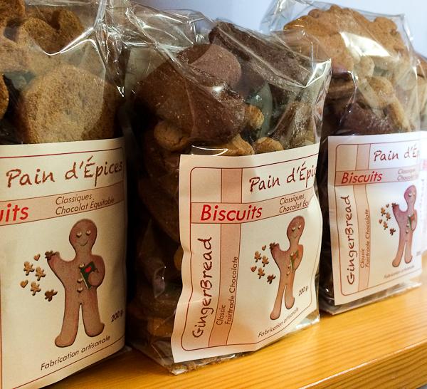 Biscuits de pain d'épices pour emporter - Lanaudière, Québec