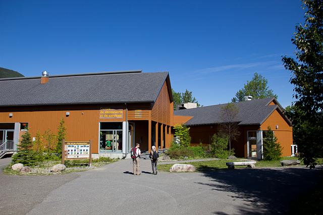 Centre de découverte et de services - L'Auberge Gîte du Mont-Albert, Gaspésie