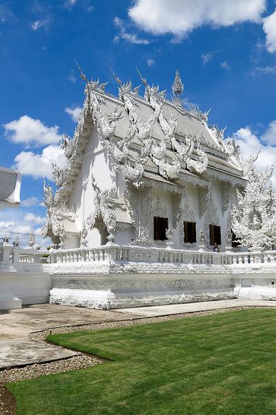 Derrière le Temple Blanc (White Temple) - Chiang Rai, Thaïlande