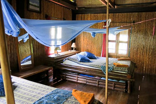 Deuxième chambre - Les Manguiers - Kampot, Cambodge