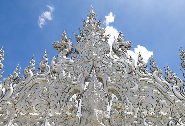 Hauteurs du Temple Blanc (White Temple) - Chiang Rai, Thaïlande