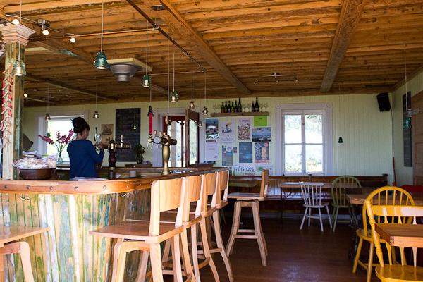 Le bar - Microbrasserie Tête d'Allumette - Kamouraska
