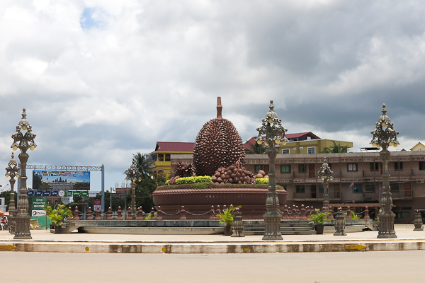 Le durian - Kampot, Cambodge