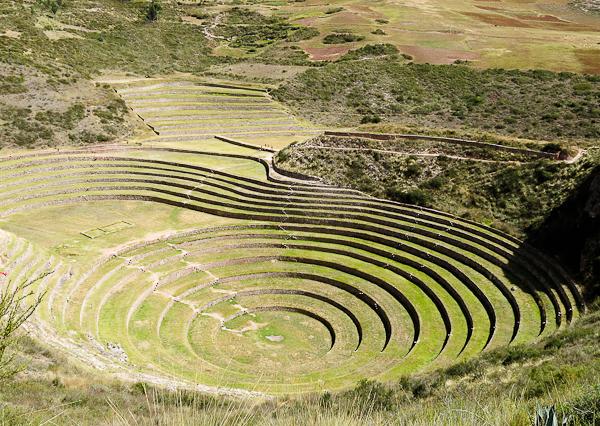 Les terrasses concentriques de Moray - Vallée sacrée des Incas, Pérou