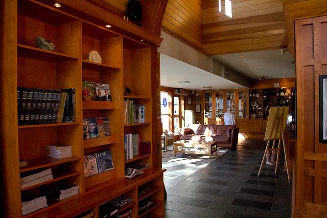 Lobby - L'Auberge Gîte du Mont-Albert, Gaspésie