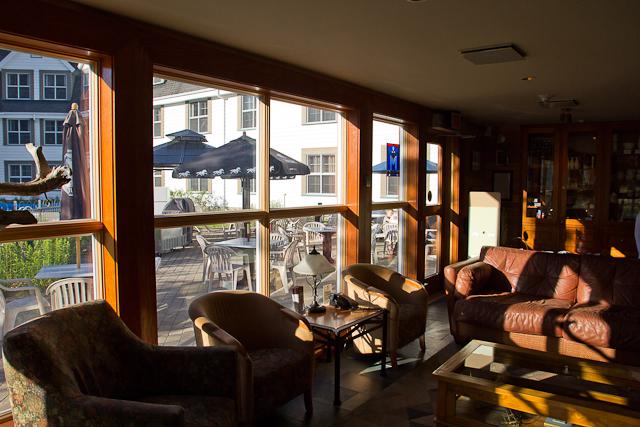 Lobby de l'hôtel - L'Auberge Gîte du Mont-Albert, Gaspésie