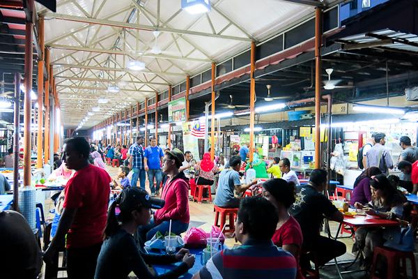 Marché malais local - Kuala Lumpur, Malaisie