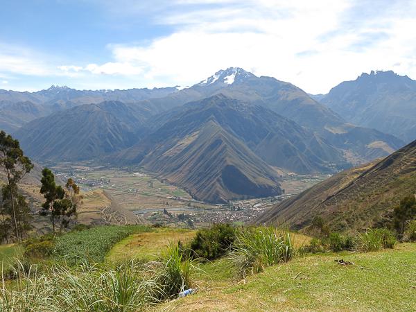 Paysage typique - Vallée sacrée - Pérou