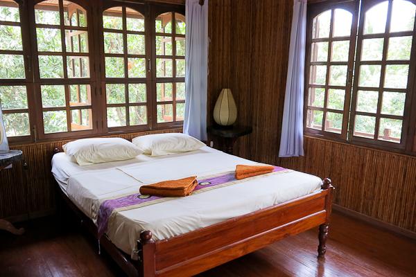 Première chambre - Les Manguiers - Kampot, Cambodge