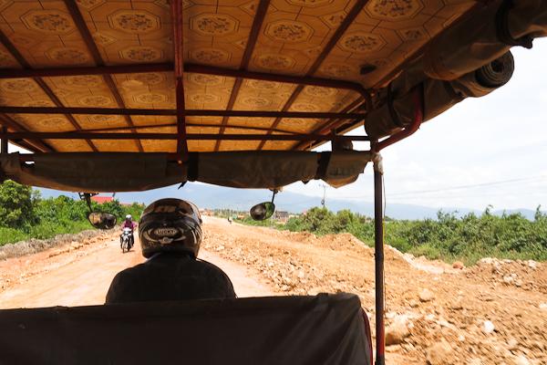 Route de Kep à Kampot, Cambodge