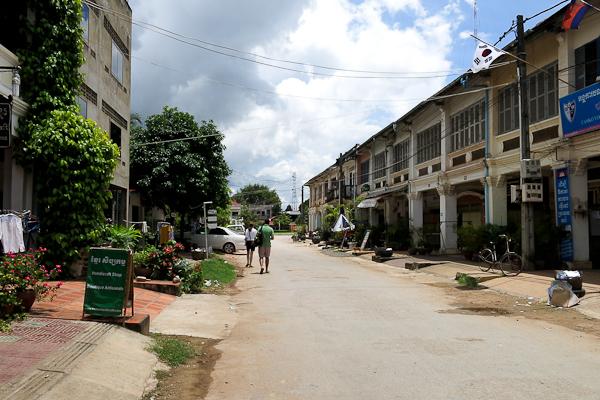 Rue de la Java Bleue - Kampot, Cambodge