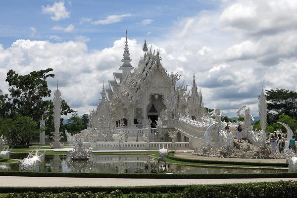 Temple Blanc (White Temple) - Chiang Rai, Thaïlande