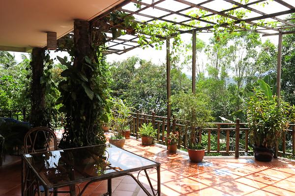 Terrasse - Les Manguiers - Kampot, Cambodge