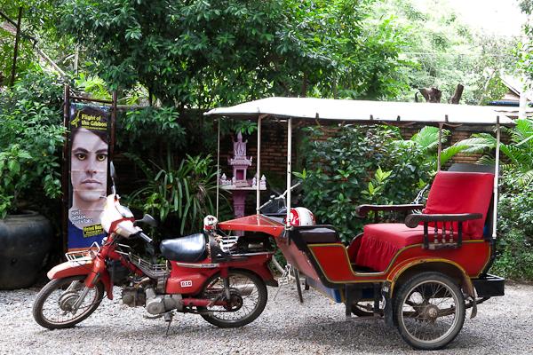 Tuk tuk - River Garden StreetFood Tour – Siem Reap, Cambodge