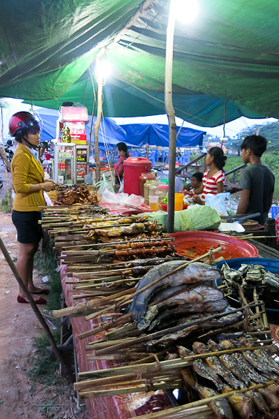 Visite du marché local - River Garden StreetFood Tour – Siem Reap, Cambodge