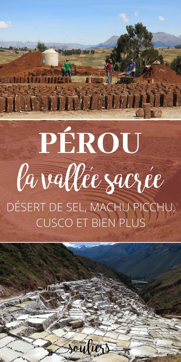 Vallée sacrée au Pérou près de Cusco
