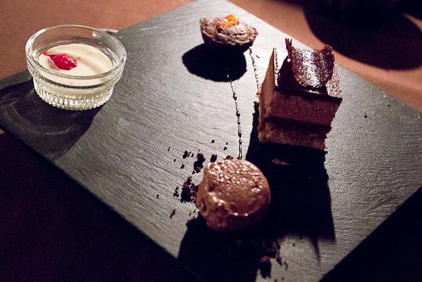 Dessert - Auberge du Mange Grenouille au Bic, Bas-Saint-Laurent