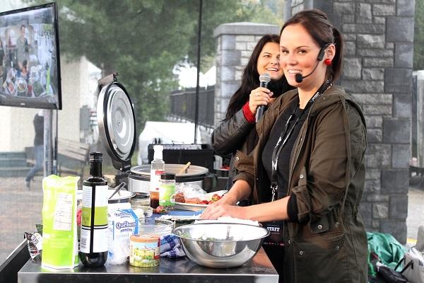 Geneviève Everell Sushis à la maison - Tremblant Gourmand