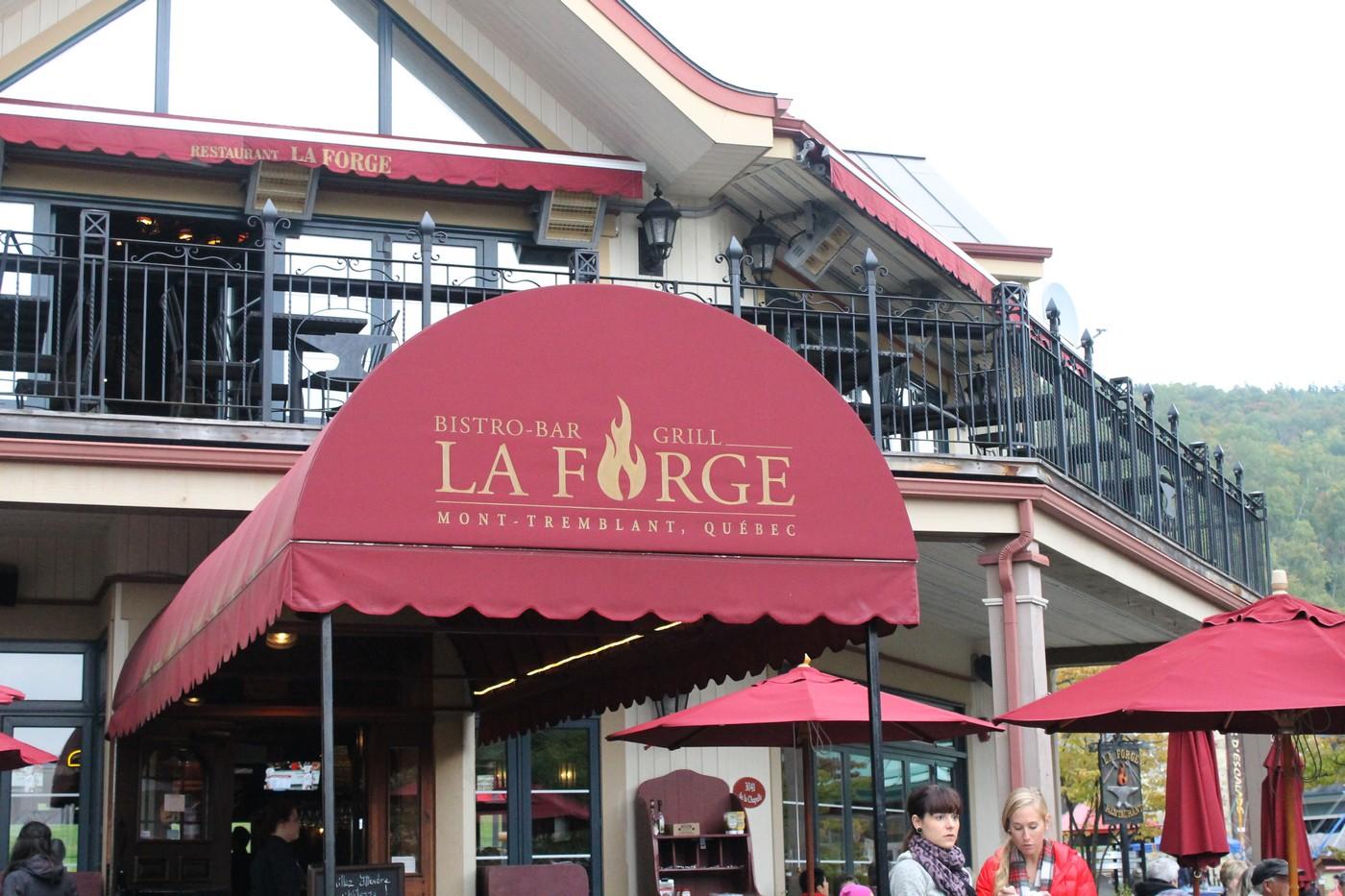 Restaurant La Forge - Tremblant Gourmand
