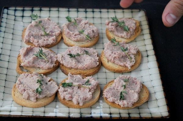 Tartinades de porc - Tremblant Gourmand