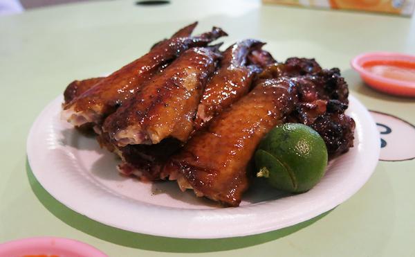 Ailes de poulet - Singapour
