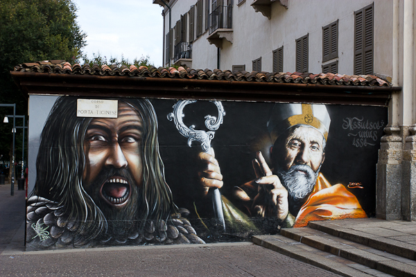 Art de rue - Milan, Italie