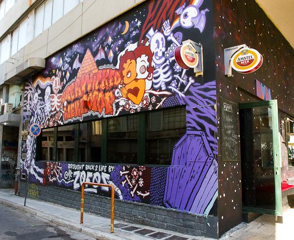 Art de rue - Street art à Athènes, Grèce 2