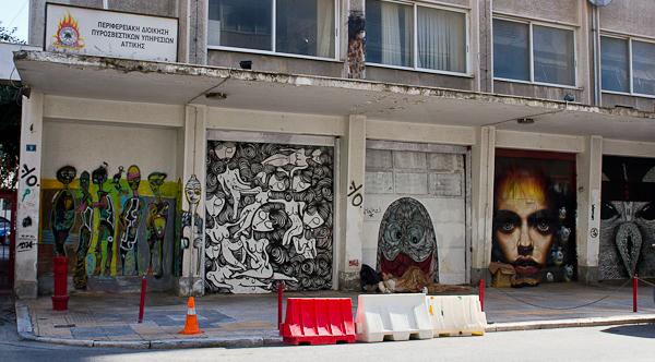 Art de rue - Street art à Athènes, Grèce 3