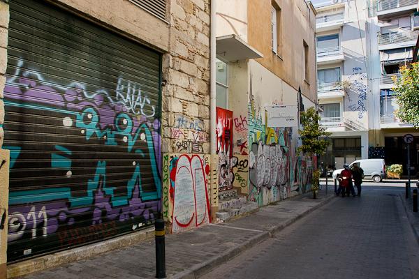 Art de rue - Street art à Athènes, Grèce 5