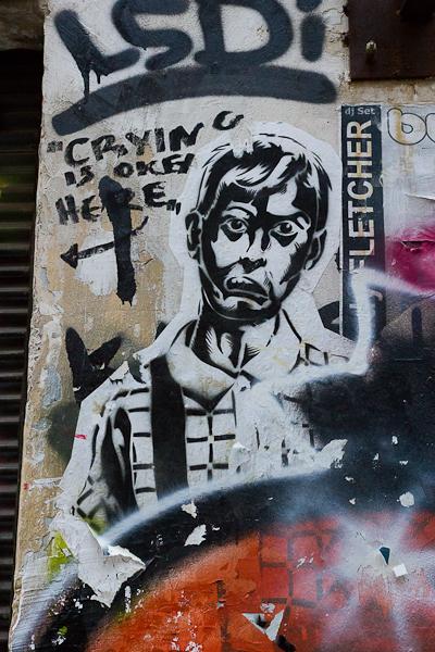 Art de rue - Street art à Athènes, Grèce 6