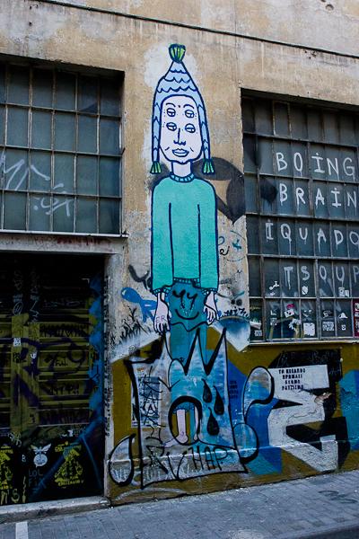 Art de rue - Street art à Athènes, Grèce 9