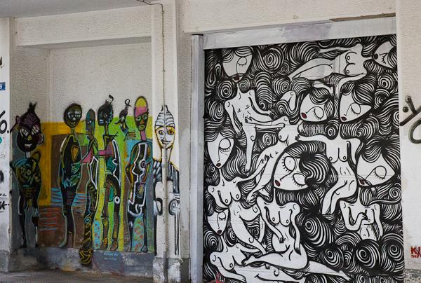 Art de rue - Street art à Athènes, Grèce