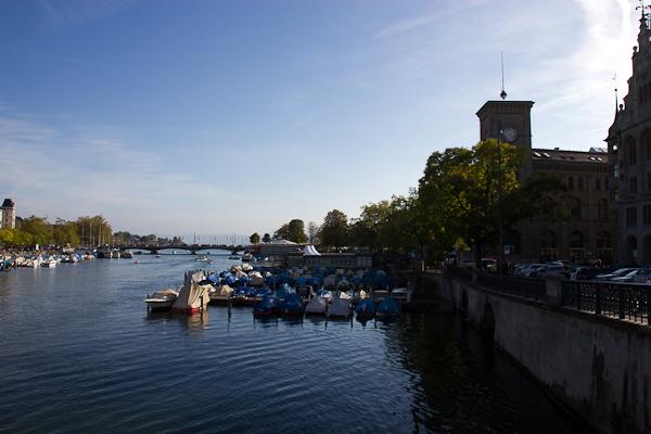 Au bord du Limmatt - Zurich, Suisse