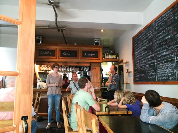 Bar à vins Le Moine Échanson - Québec City
