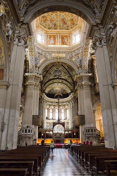 Basilica di Santa Maria Maggiore - Bergamo, Lombardie, Italie