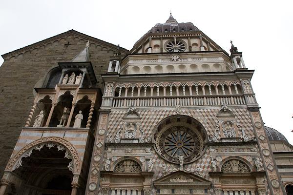 Basilica di Santa Maria Maggiore, Bergamo, Lombardie, Italie