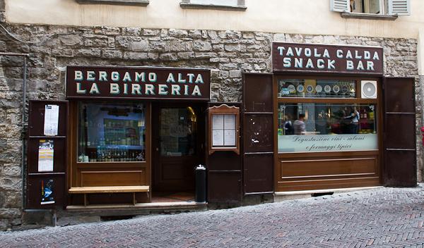 Bergamo Alta La Birreria - Lombardie, Italie