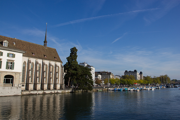 Bord de l'eau du Limmatt - Zurich, Suisse